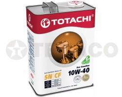 Масло моторное TOTACHI Eco Gasoline 10W-40 SN/CF (4л) полусинтетика