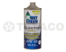 Масло моторное MOLY GREEN SELECTION 10W-40 SN/CF (1л)