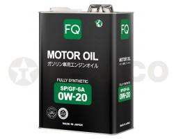 Масло моторное FQ FULLY SYNTHETIC 0W-20 SP/GF-6A (4л)