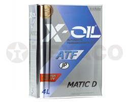 Жидкость для АКПП X-OIL ATF MATIC D (4л)