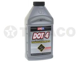 Тормозная жидкость UNIX ДОТ-4 (455г)