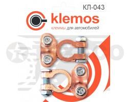 Клеммы АКБ Klemos омедненная EuroType1  (2шт)