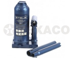 Домкрат гидравлический бутылочный телескопический STELS 2т 170-380мм