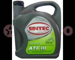 Жидкость для АКПП Sintoil ATF DIII (4л)