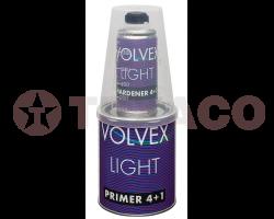 Акриловый грунт VOLVEX  LIGHT 2K 4+1 (0.8л)+отвердитель (0,2л) серый
