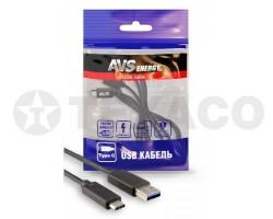 Кабель AVS Type C USB (1м) USB 3.0 TC-311