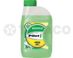 Антифриз PILOTS G11 -40 зеленый (1кг)