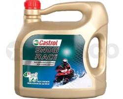 Масло для 4-х тактных двигателей Castrol Snow Race 4Т 0W-40 (4л)-синтетика SL/MA