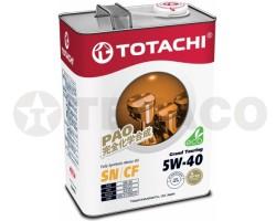 Масло моторное TOTACHI Grand Touring 5W-40 SN (4л) синтетика