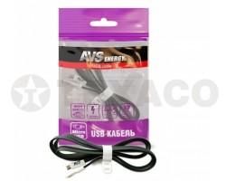 Кабель AVS micro USB (1м) MR-331
