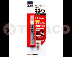 Карандаш для заделки царапин темно красный KIZU PEN BP-54 (60мл)