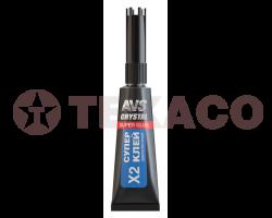 Супер клей AVS высокопрочный (3г) AVK-171
