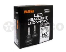 Автолампа светодиодная MASUMA H7 6000K 4000Lm 12V-55W (2шт)