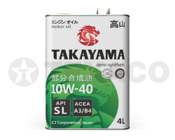 Масло моторное TAKAYAMA 10W-40 A3/B4 SL (4л)