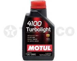 Масло моторное MOTUL 4100 Turbolight 10W-40 (1л)