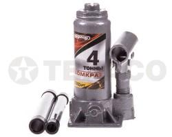Домкрат SKYWAY гидравлический бутылочный 4т стандарт 158-308мм (коробка) S01804022