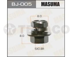 Болт с гайкой MASUMA M5х8x0.8 (12шт)