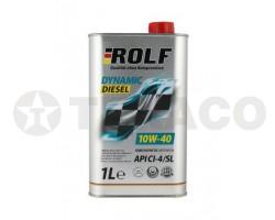 Масло моторное ROLF Dynamic Diesel 10W-40 CI-4/SL (1л) п/синт