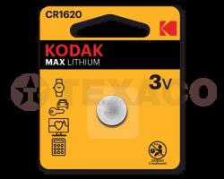 Батарейка Kodak CR1620-1BL