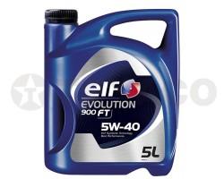 Масло моторное Elf Evolution 900 FT 5W-40 SN/CF/A3/B4 (5л)
