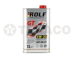 Масло моторное ROLF GT 5W-30 SN/CF (1л) синт