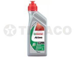Масло для 4-х тактных двигателей Castrol Act>Evo 4T 10W-40 (1л)-полусинтетика SJ/MA-2