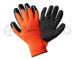 Перчатки AIRLINE утепленные с латексным покрытием AWG-W-05