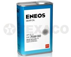 Масло трансмиссионное ENEOS GEAR 75W-90 GL-4 (1л)