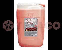 Автошампунь для бесконтактной мойки Vitex Ultra Clean красный (20кг)