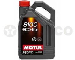 Масло моторное MOTUL 8100 Eco-lite 0W-20 (4л)