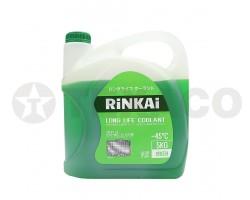 Антифриз RINKAI Green (зеленый) -45 (5кг)