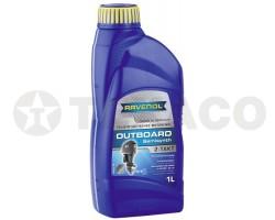 Масло моторное RAVENOL OUTBOARD 2-TAKT TB (1л) полусинтетика