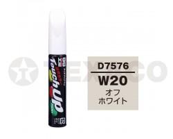 Краска-карандаш TOUCH UP PAINT 12мл D-7576 (W20)(белый)