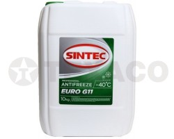 Антифриз SINTEC EURO G11 -40 зеленый (10кг)