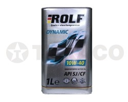 Масло моторное ROLF Dynamic 10W-40 CF/SJ (1л)