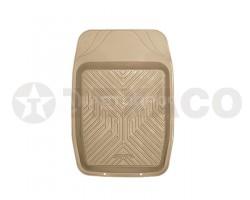 Коврик AUTOPROFI GROOVE термопласт для микроавтобусов передний 69x48см MAT-150F GY