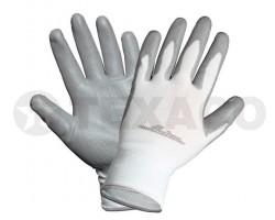Перчатки AIRLINE нейлоновые с покрытием AWG-N-02