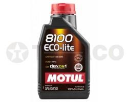 Масло моторное MOTUL 8100 Eco-lite 0W-20 (1л)