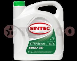 Антифриз SINTEC EURO G11 -40 зеленый (5кг)