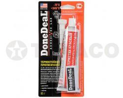 Герметик силиконовый термостойкий красный DoneDeaL (85г)