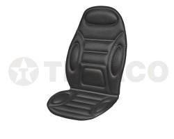 Подогрев сиденья со спинкой SKYWAY с терморегулятором 2режима 120х51см 12В/2,5-3А черный S02201007