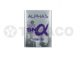 Масло моторное ALPHA'S SN SINTHETIC 10W-30 (4л)