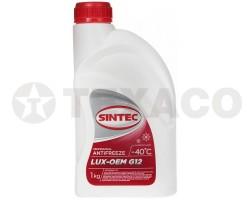 Антифриз SINTEC LUX-OEM G12 красный (1кг)