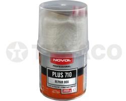 Ремкомплект NOVOL PLUS 710 для заделки пробоин (0.25кг)