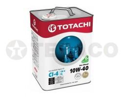 Масло моторное TOTACHI Eco Diesel 10W-40 CI-4/CH-4/SL (6л) полусинтетика