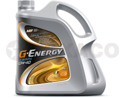 Масло моторное G-Energy F Synth 0W-40 SN/CF A3/B4 (4л)