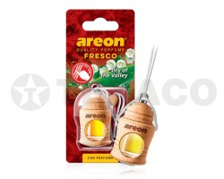 Ароматизатор AREON FRESCO Lily of the Valley (4мл)