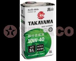 Масло моторное TAKAYAMA 10W-40 A3/B4 SL (1л)