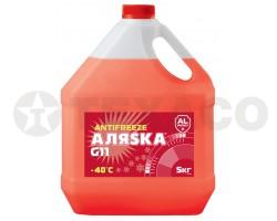 Антифриз АЛЯСКА -40 красный (5кг)