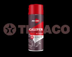 Краска-спрей для тормозных суппортов AIM-ONE красная (450мл)